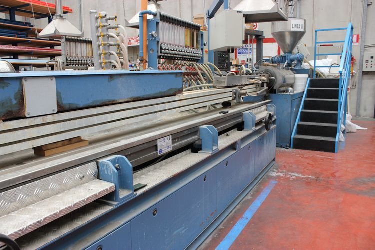 Bausano TWIN SCREW  PVC PIPES EXTRUSION LINE