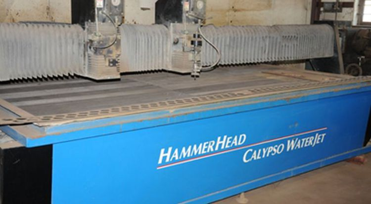 Calypso HAMMERHEAD CNC Control CNC WATERJET CUTTING MACHINE