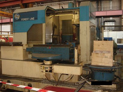 Forest Line Flexiax 408, 	Machining Centre, Horizontal 5 axis