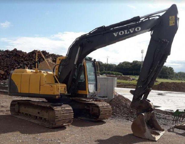 Volvo EC 140 BLC Tracked Excavators