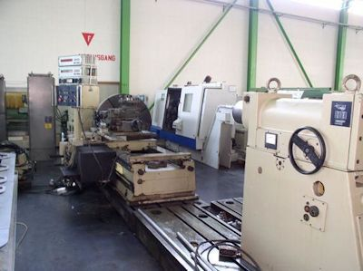 WMW Niles Engine Lathe 355 rpm DP1/S2