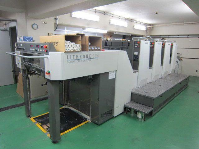 Komori Super Lithrone LS426 4 480x660mm