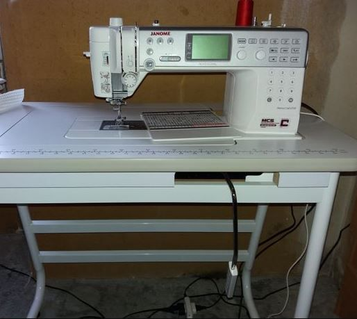 Janome Memory craft 6700P Sewing