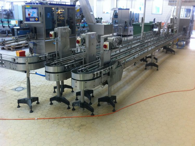 Tetra Pak Conveyors for Filling Lines