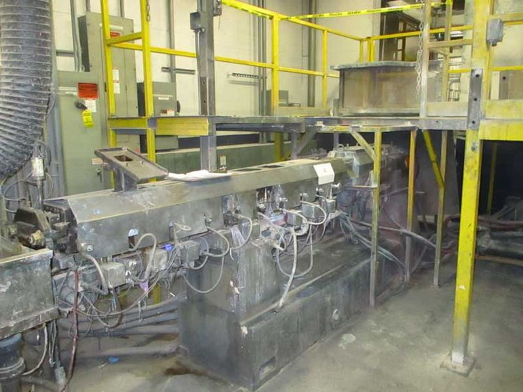 Leistritz CO-ROTATING TWIN SCREW EXTRUDER