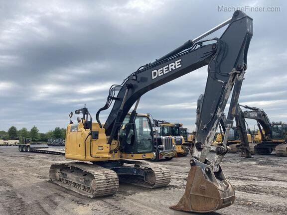 John Deere 245G LC Excavators