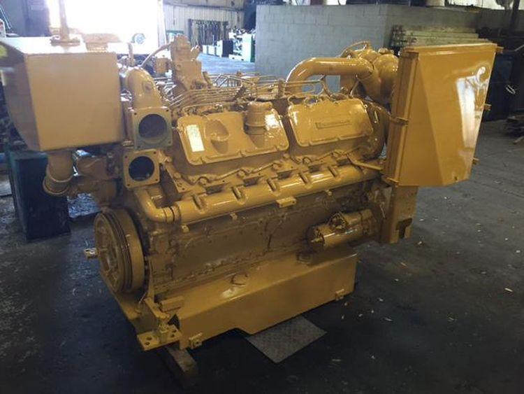 Caterpillar 3412 DIT Diesel Marine Engine