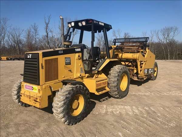 Caterpillar 446W/FOX674 Motor Scrapper