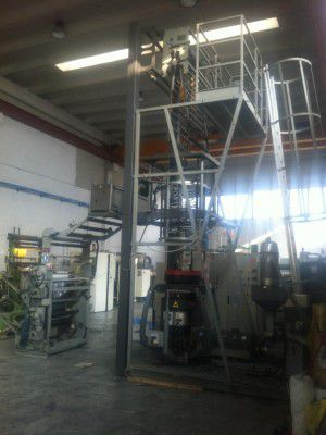 Tecom Blown Film Extrusion Line