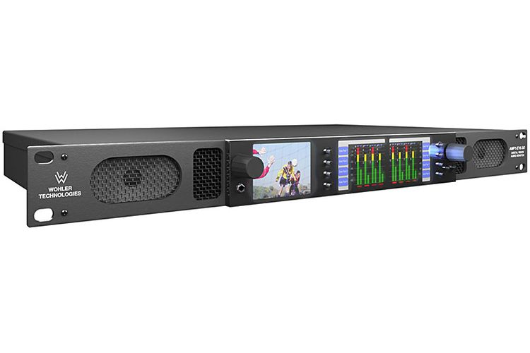 Wohler AMP1-16V-MD Audio Monitor with Video Monitor