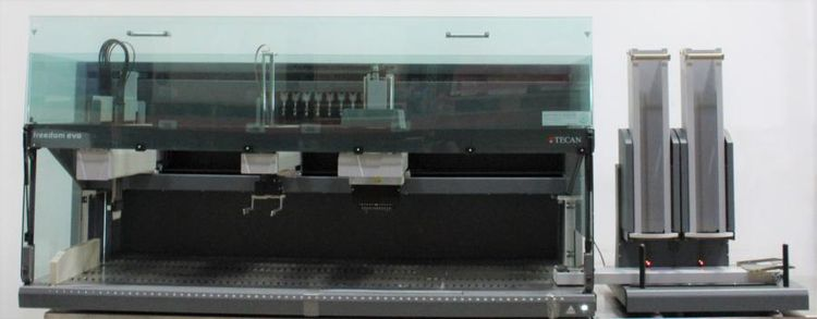 Tecan Freedom EVO 200 W/ Span8, MCA96 Multichannel, ROMA Gripper