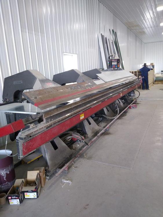 Bradbury 21 Foot x 18ga Folding Machine Bending Length: 21 Ft