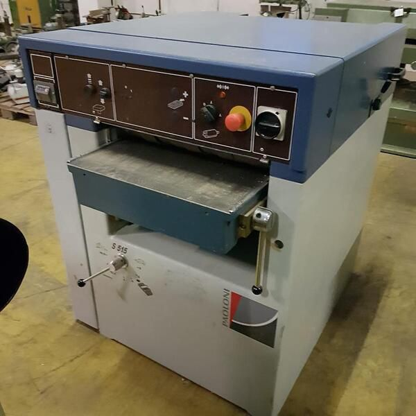Paoloni S515, Thickness Planer