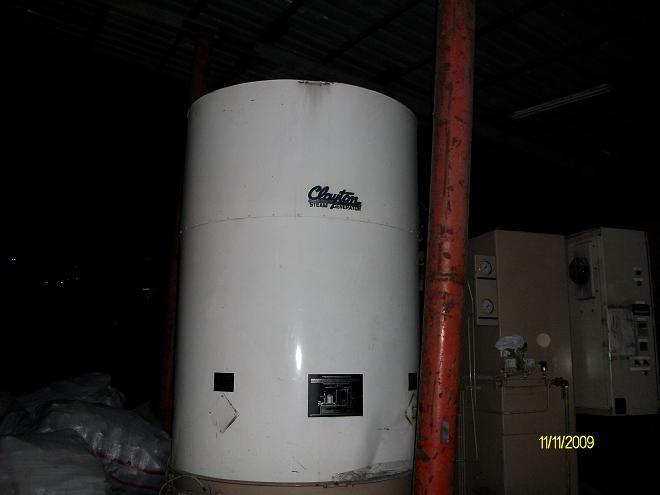 Clayton Steam Boiler 3 Ton/h