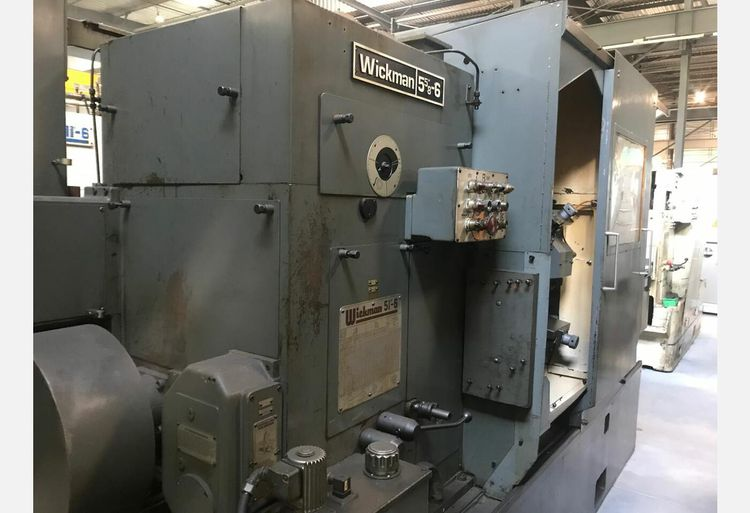 Wickman MULTISPINDLE LATHE Variable 5 5/8 X 6