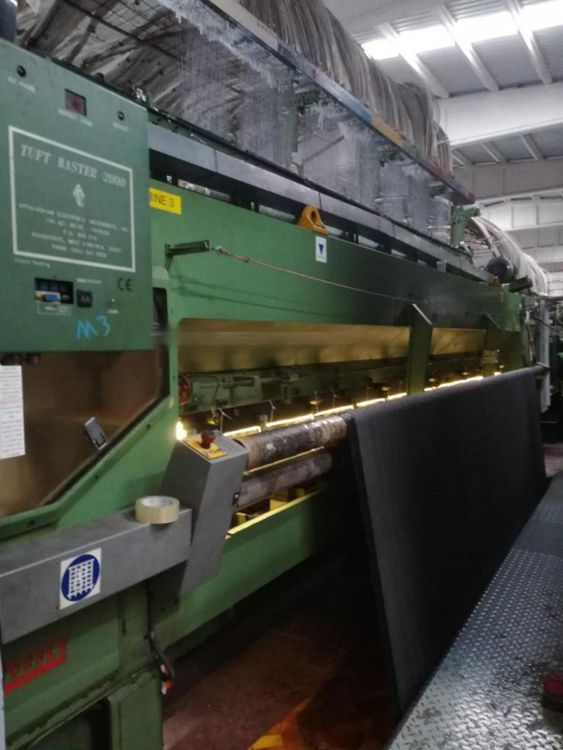 Cobble Tuft Master 2000 Loop pile tufting machine