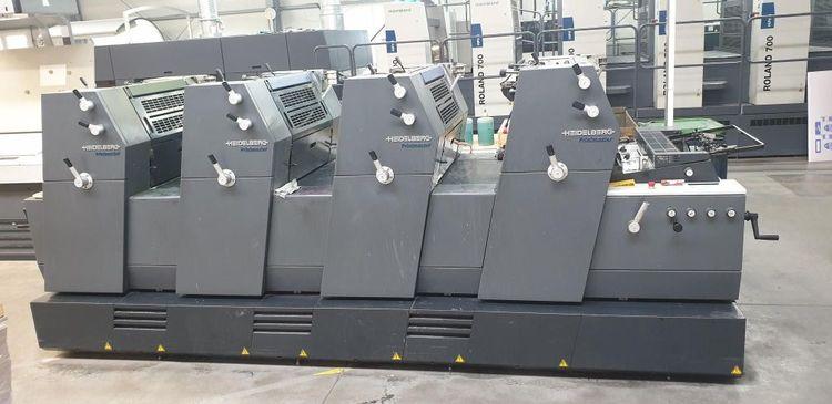 Heidelberg Printmaster GTO 52-4 + 36 x 52 cm