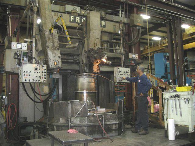 "Froriep KE-16 72"" Vertical Boring Mill"