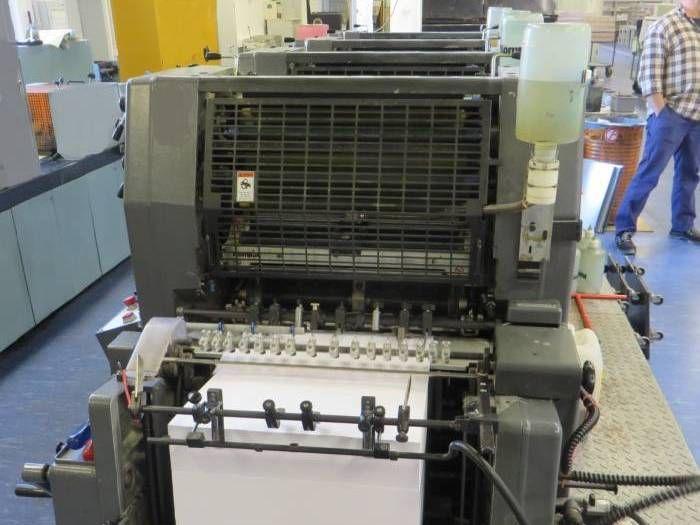 Heidelberg GTO 52-4 P3 4 52 x 36 cm