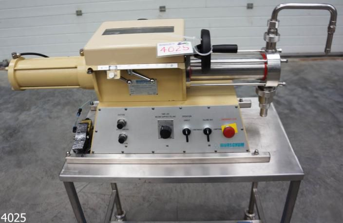 Wurschum PS600, Semi Auto Liquid Filling Machine