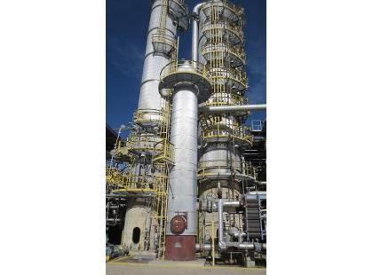 7412 A&B Process Side Stripper Distillation Column