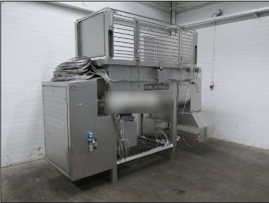 Karl Schnell 750 double paddle mixer