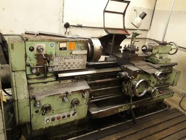 Kurim, TOS Engine Lathe Variable SU 50A / 1000