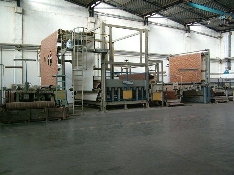 Herbert, Olbrich 4M wide Cushion Vinyl Flooring Line