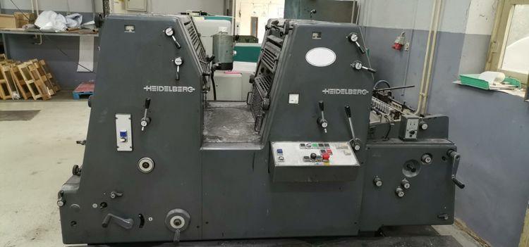 Heidelberg GTO 52-2-P 36 x 52 cm