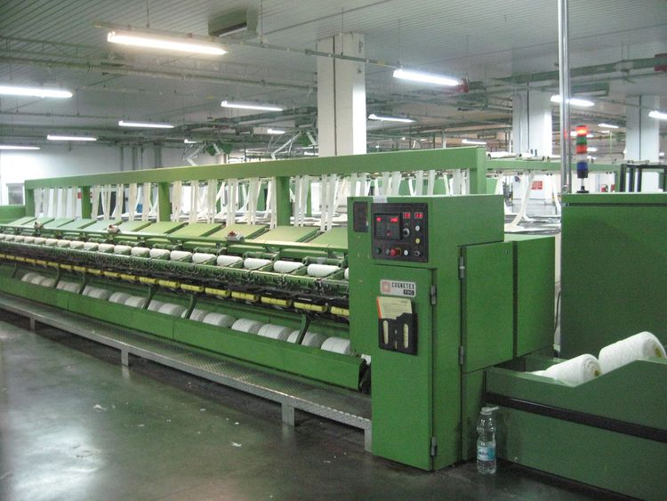 Cognetex SMC 600 / 11V, FRC 300 / 24S Preparation line