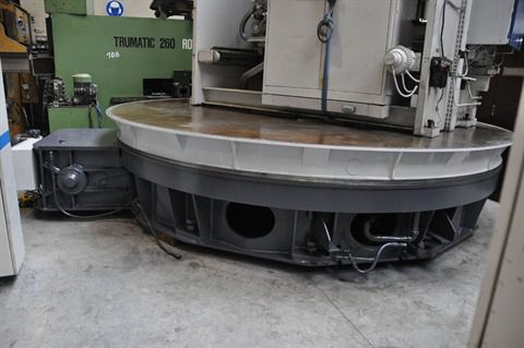 Turntable dia 4200 mm x 80 t Vertical borers