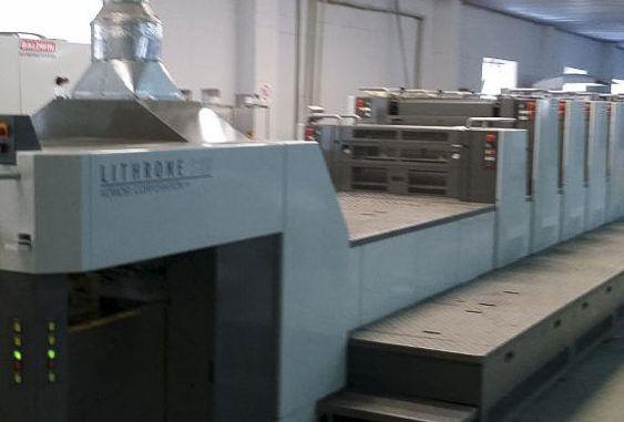 Komori LS629+CX 20 x 29 inch