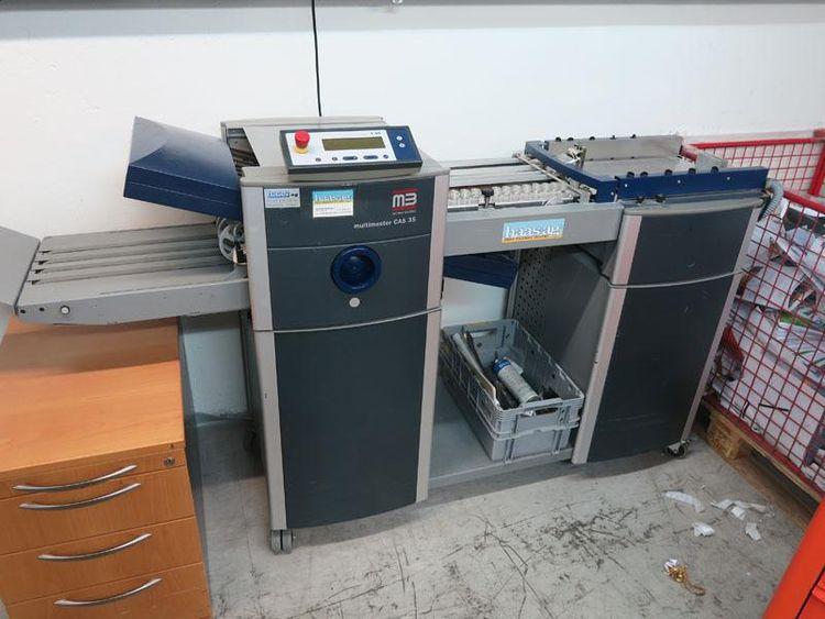 MB Bauerle Multimaster CAS 35, Folding machine