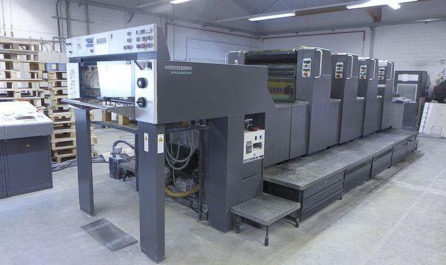 Heidelberg Speedmaster SM74-4P-H 20 x 29 inch