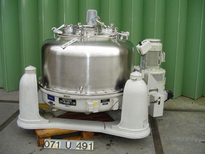 Ferrum POT-1000 - Basket centrifuge