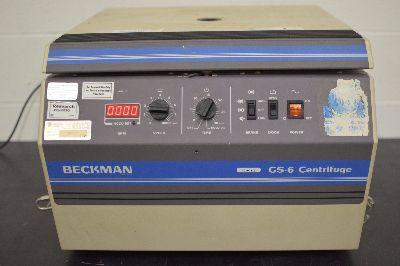 Beckman Coulter GS-6, Centrifuge
