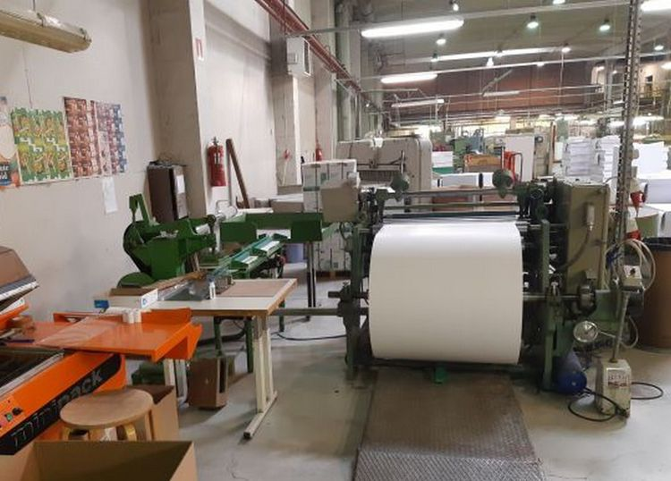 OMM 1050 mm type OMM  Plotter and cash register (ATM) rolls - visible in production, small price