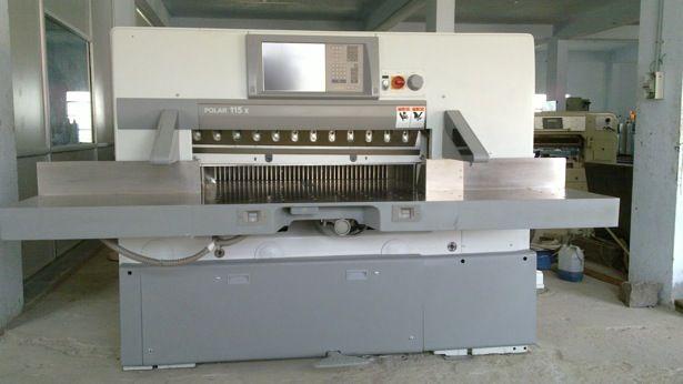 Polar 115 X, Guillotine Machine. Max 115 cm
