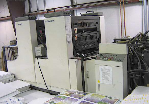 Komori S226 II P, 2 colors Offset machine 19 X 26