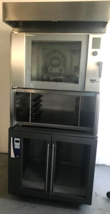 Wiesheu B4 + E 2 In-store baking oven