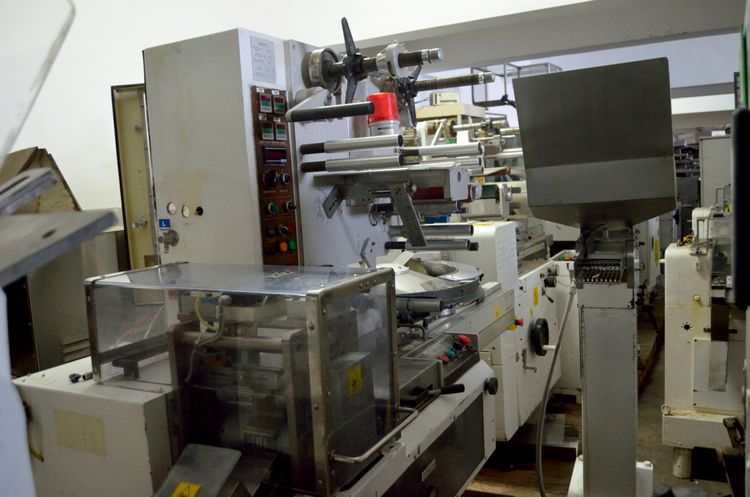 Eurosicma B75/DS Current wrapping cut off 52 mm Candy Wrapping Machine