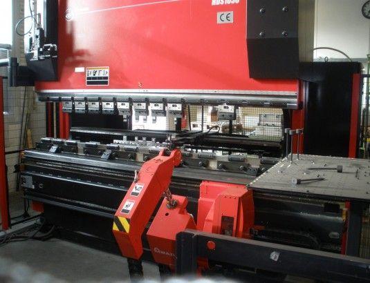 Amada ASTRO-100NT ROBOT HDS 1030 100 Ton