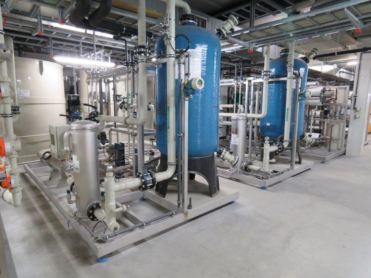 Online auction of Plant utilities and solar cells production lines