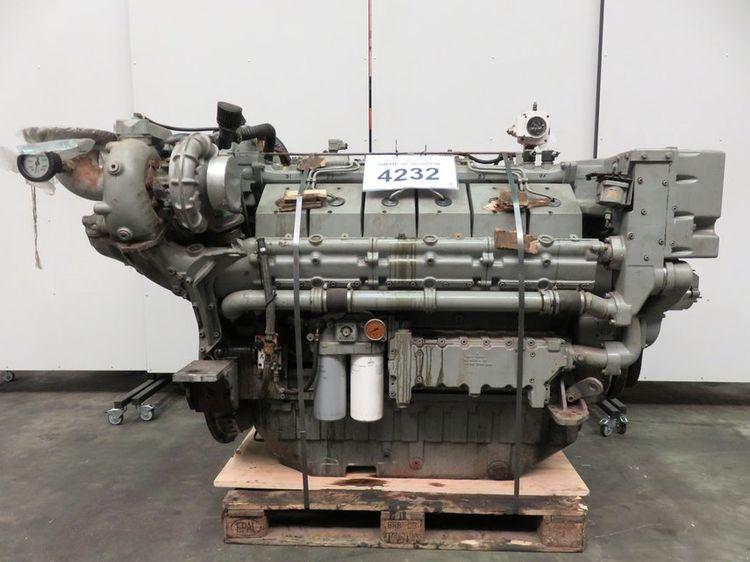 Deutz, MWM TBD 616 V12 Marine diesel engine