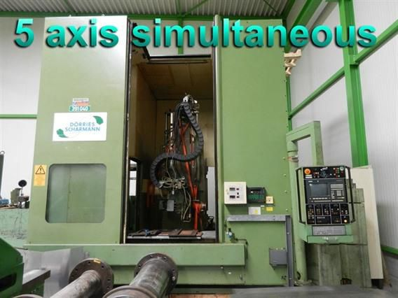 Dorries Scharmann VCCS 1500/100S Column CNC Vertical Boring Mill