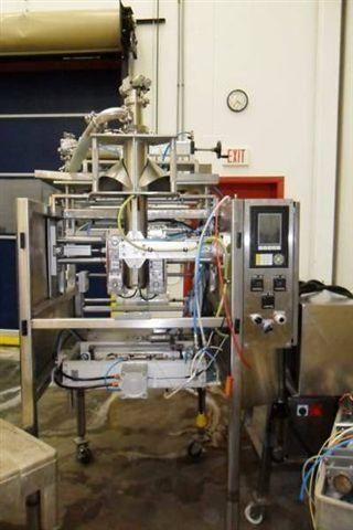 Mira Pak machine liquid filler with gas flush