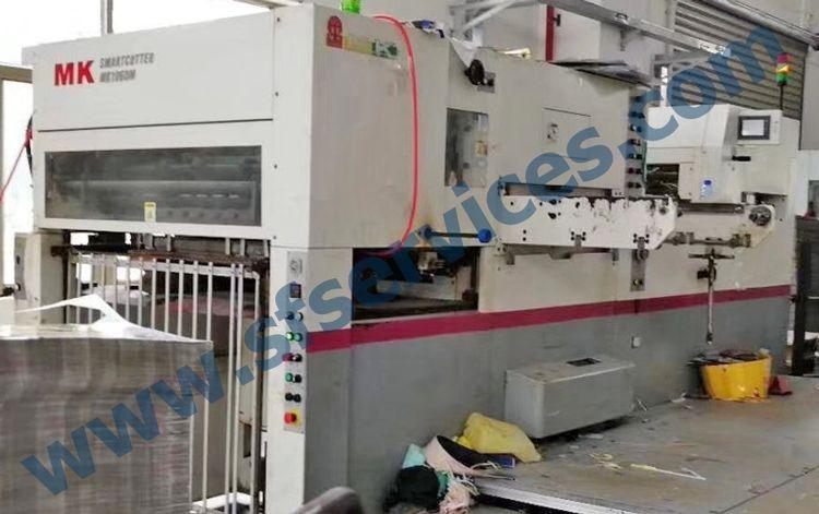 Mk 1060M, Die Cutting & Creasing Press