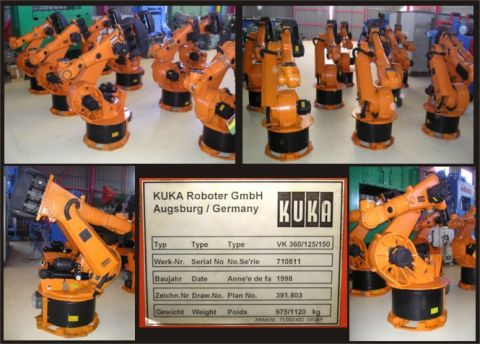 Kuka VK 360/125/150 6 Axis 125 kgr