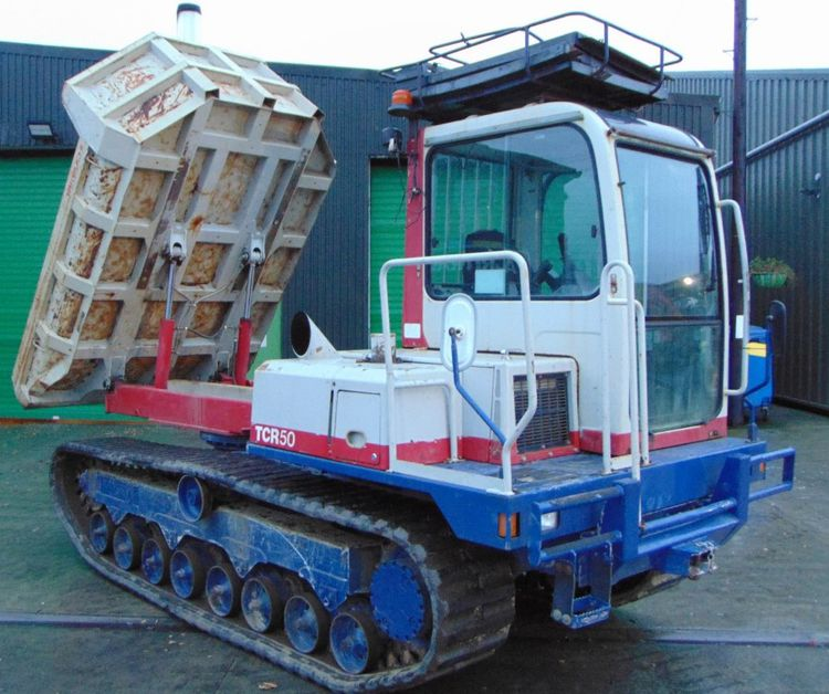 Takeuchi TCR 50 Dumper