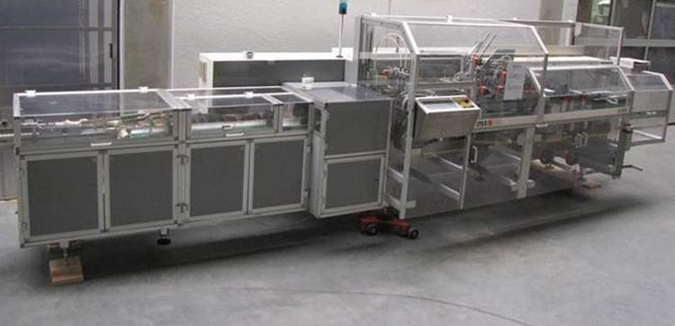Ima A 94, Cartoner Width 25-110, height 12-85, length 55-210 mm
